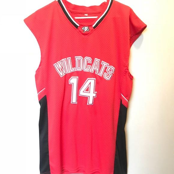 3b05c9850fd Shirts | Troy Bolton Wildcats Jersey | Poshmark